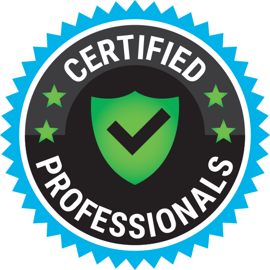 certified professionals