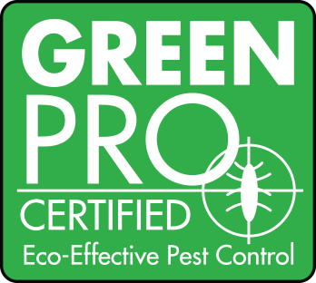 green pro certified eco-effective pest control logo